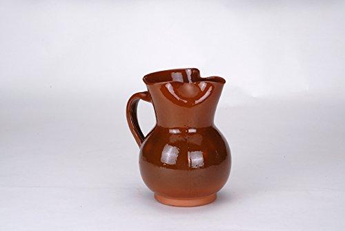 Cocina tradicional - Caraffa per vino da cucina; tradizionale, in Terracotta, 1 l, jv-2
