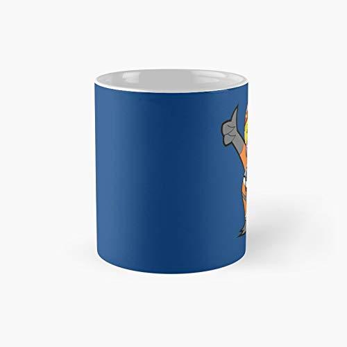 Taza clásica con texto en inglés 'Leave It to Porkins' | El mejor regalo divertidas tazas de café de 325 ml
