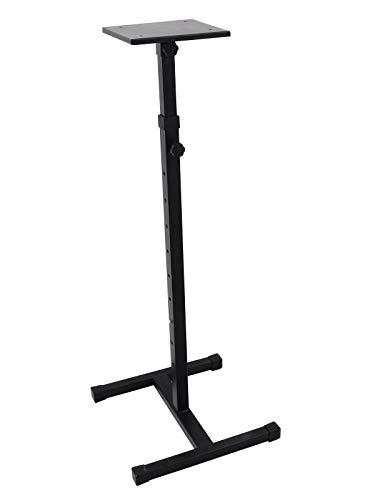 Omnitronic MO-1 Monitorständer | Monitorständer, von 93 bis 148 cm ausfahrbar und bis 18 kg belastbar
