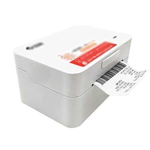 KOSHSH Desktop Thermal Label Printer, Bluetooth Electronic Face Bill Printer, Barcode Label Maker High Speed Printing Machine for Shipping Express Label, Compatible with Windows Android iOS