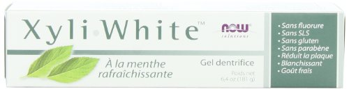 NOW Xyliwhite, Refreshmint 6.4-Ounces (Pack of 4)