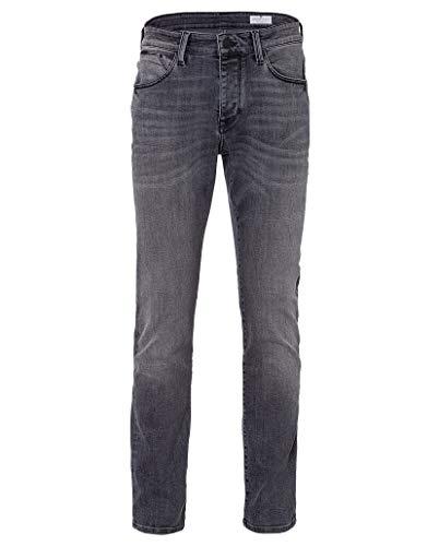 Cross Herren Jeans Dylan - Regular Fit - Grau - Grey, Größe:W 38 L 30, Farbe:Grey (076)