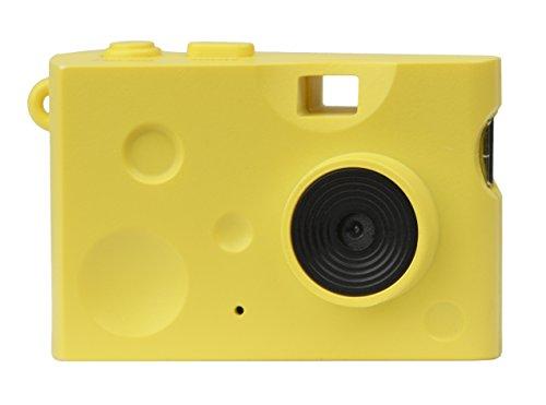 KenkoトイカメラDSCPieniCheese131万画素動画・静止画撮影可能イエローmicroSDカード対応DSC-PIENICHEESE