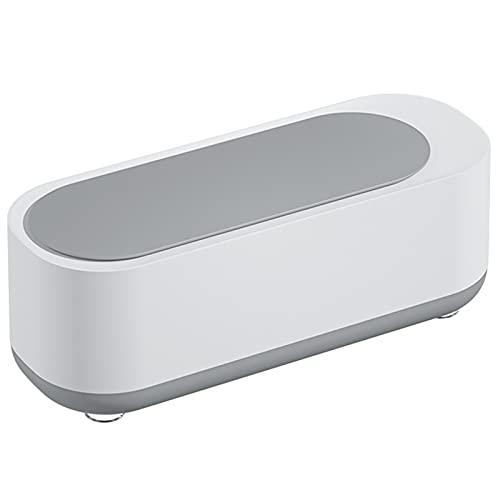 Mini Professioneller Schmuckreiniger, Drahtloser Tragbares Haus One-Taste Reinigungsmaschine für Augengläser Uhren Ohrringe Ring Halsketten Rasierer Zahnersatz