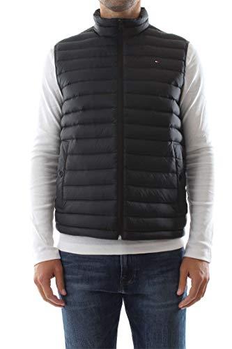 Tommy Hilfiger Core LW Packable Down Vest Chaleco, Negro (Jet Black 083), Large para Hombre