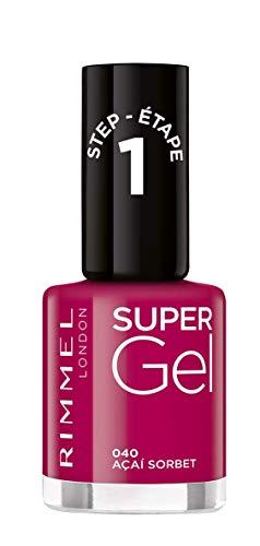 Rimmel Super Gel nagellak (kleur 040 Açai Sorbet) - 12 ml