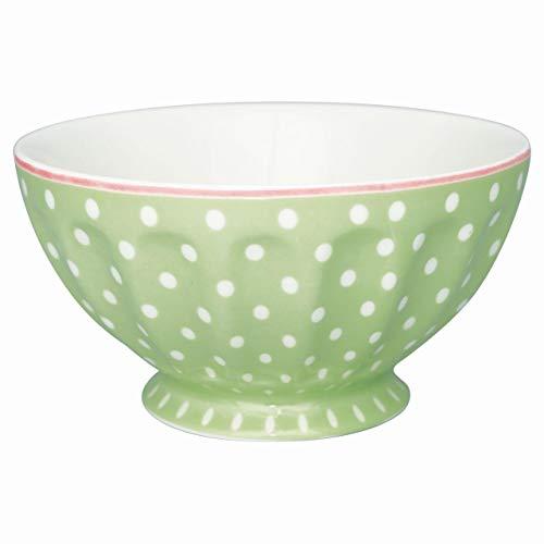 GreenGate - Schale - Schüssel - Bowl - Spot - Porzellan - grün - 400 ml