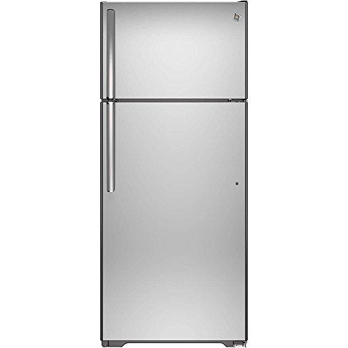 GE GTS18GSHSS 17.5 Cu. Ft. Stainless Steel Top Freezer Refrigerator
