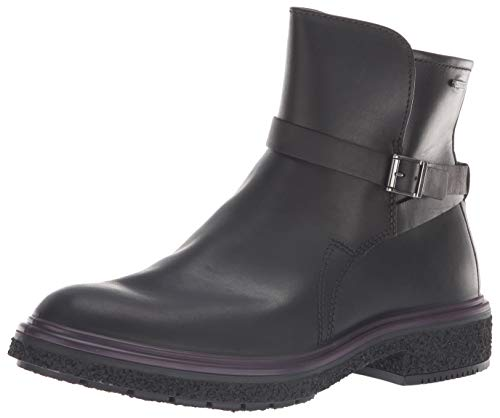 ECCO Women's CrepeTray Gore-TEX Ankle Boot, Black, 7-7. 5