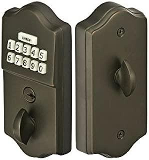 Emtek Keypad Deadbolt 3 Finish Options (Oil Rubbed Bronze US10B)