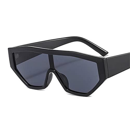 ShZyywrl Gafas De Sol De Moda Unisex Gafas De Sol Cuadradas DeModa para Mujer, Gafas De Sol De Leopardo Populares para Hombres, Gafas De Ciclismo para Fies