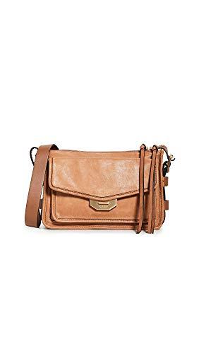 Rag & Bone Women's Small Field Messenger Bag, Brown, One Size
