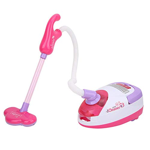 Bicaquu Simulation Elektro-Staubsauger Buntes Lernsimulations-Reinigungswerkzeug Simulations-Reinigungsspielset, so tun, als würde es Spielzeug Spielen, für Kleinkinder für Mädchen, Kinder(5999)