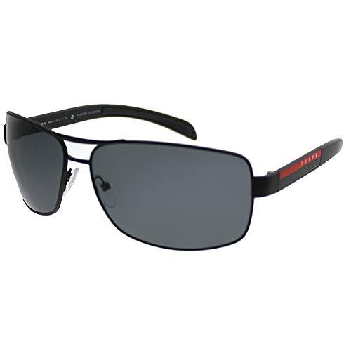 Prada Linea Rossa 0PS 54IS, Gafas de Sol para Hombre, Negro (Black Rubber), 65