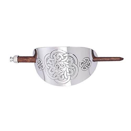 Lurrose Viking Hair Pin Vintage Celtic Knot Hair Sticks Irish Hair Slide Pin Viking Hair Clip Hair Accessories for Women Girls Men