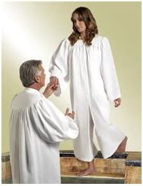 Religious Supply Cleric Pulpit Robe; Men's Sizes