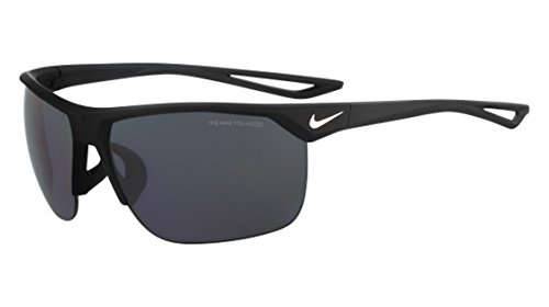 NIKE Trainer P EV0936 Gafas de sol, Negro (Mt Black/Sil W/Gry Pol Lea), 67.0 para Hombre