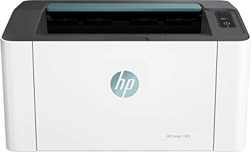 HP Laser 107r Imprimante Laser Monochrome Ultracompacte (20 ppm, 1200 x 1200 ppp, capacité d'alimentation 150 feuilles, USB)