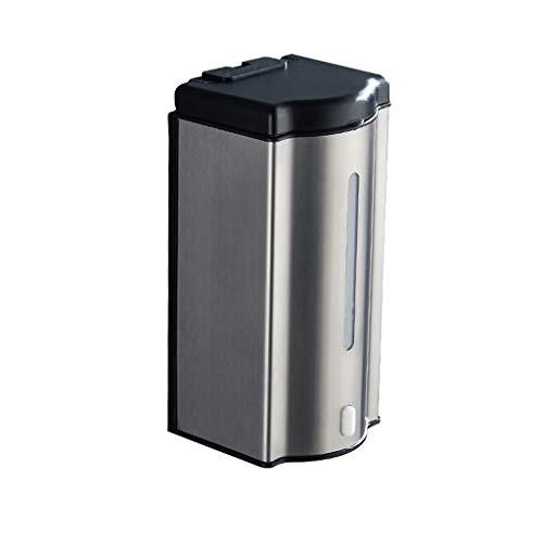 Hogar cocina Baño Dispensadores de jabón Dispensador de jabón montado en la pared de acero inoxidable, de 600 ml Ducha mano del dispensador de jabón dispensador gratuito for la escuela del hotel, ofic