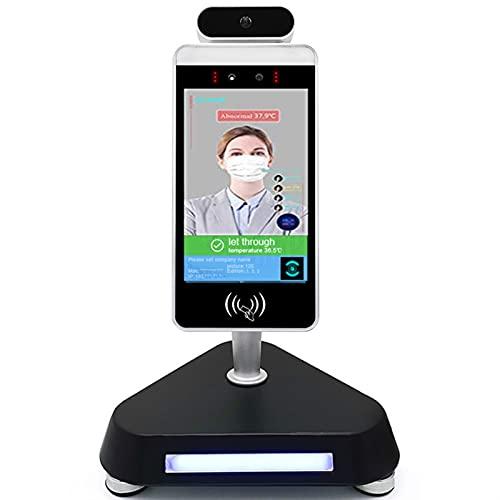 LVHI Cámara De Reconocimiento Facial IP, Cámara De Seguridad Termal para Detección De Temperatura del Cuerpo Humano, Reconocimiento Facial De Control De Acceso