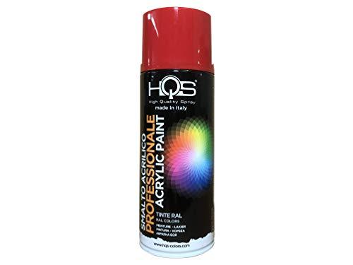 RAL 3000 High Quality Aerosol Spray Paint 400 ml Fire Red