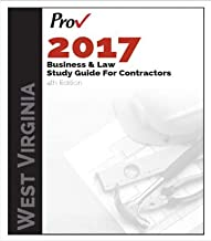 West Virginia Business and Law Study Guide for Contractors, 4th Edition