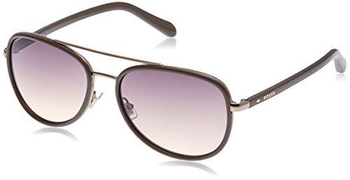 Fossil Sonnenbrille Fos2009/S-H2Z-59 Damen Gafas de Sol, Marrón (Braun), 59 para Mujer