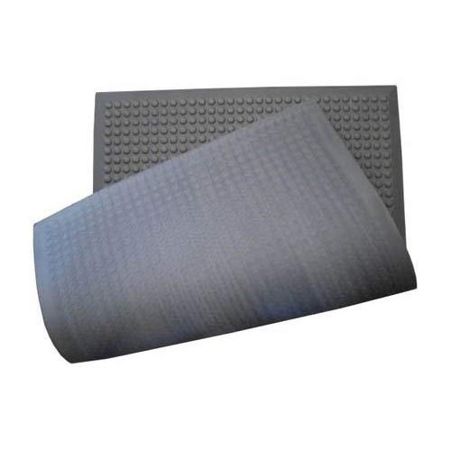 Safeguard 10108ESD ESD Bodenmatte, Abgeflachte Halbkugelnoppen, 960mm x 660mm x 12mm, Schwarz