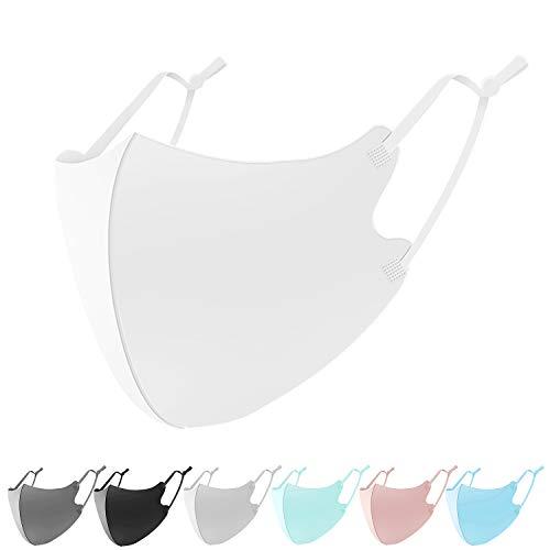 【ビクトリーロード】 アイスシルク 紐の長さ調整可能 洗えるマスク UVカット