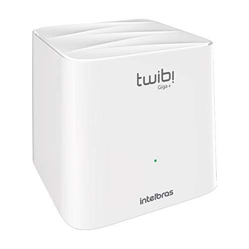 Roteador Wi-Fi Mesh Intelbras Twibi Giga+ Branco