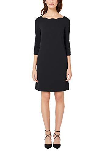 s.Oliver BLACK LABEL Damen Kleid aus elastischer Qualität Black 44