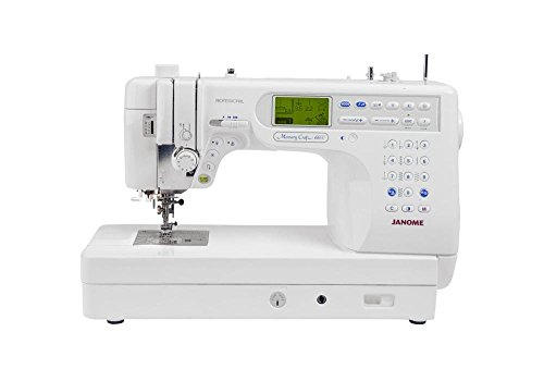 Janome Memory Craft 6600P Professional...