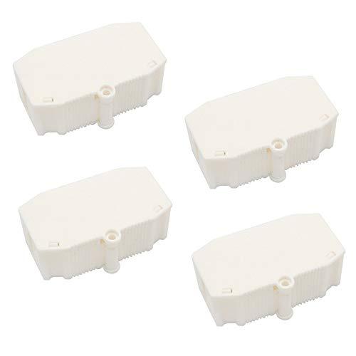 Kabelverbinder für elektrische Kommunikation, Feuerwehrausrüstung, Kunststoff, Weiß, 4 Stück