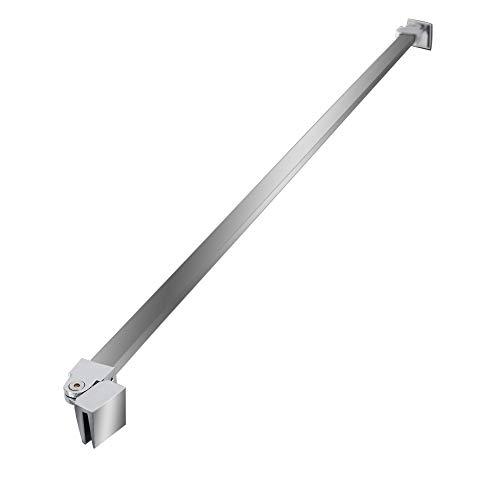 Edelstahl Stabilisator Haltestange Duschabtrennung Walk-In Duschkabine Glaswand