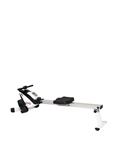 HIGH POWER V-Rower, Vogatore Unisex – Adulto, Grigio/Bianco/Nero, 126.5 x 28.5 x 23 cm