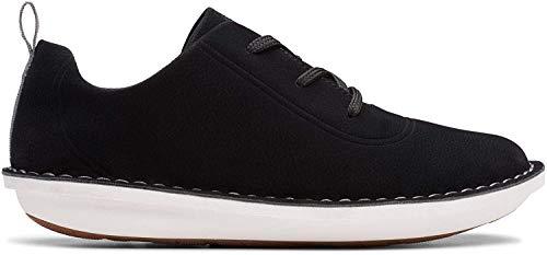 Clarks Damen Step WeltFree. Sneaker, Schwarz (Black Black), 39 EU