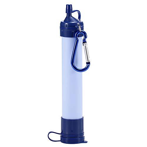 Wankd Filtre /à Eau durgence Filtre /à Eau portatif Filtre /à /épurateur de Paille Filtre de Secours Paille de Filtration deau Potable pour Le Camping en Plein air Randonn/ée Filtrer /à 0,01 microns