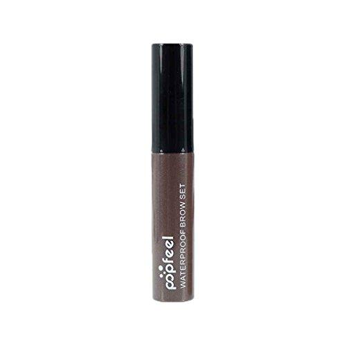 LEVEL GREAT POPFEEL 4 Farben Tattoo Augenbrauen-Peel-Off-Verfassungs-natürliche Augenbrauen färben wasserdicht langlebige Eye Brow Liner