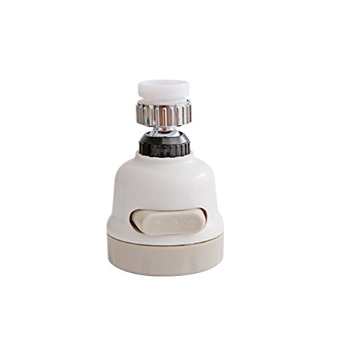 BESTOMZ Regulador de Agua Ajustable de la regadera Grifo de la Ducha Grifo de la Cocina del baño Grifo de Ahorro de Agua