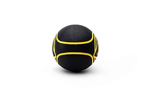 ZIVA Essentials Balon Medicinal, Adultos Unisex, Negro/Amarillo, 8 kg