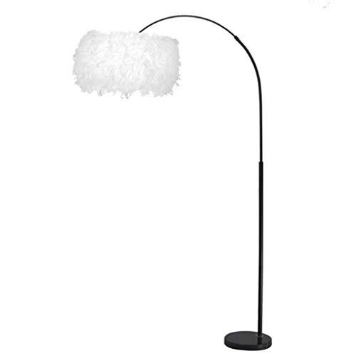 AJZGF Klassische Stehleuchte Stehlampe Federlampe Angellampe Wohnzimmer Nordic vertikale Nachttischlampe Schlafzimmer Stehlampe Innenbeleuchtung