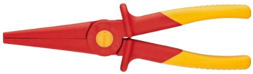 Knipex herramientas 986202soporte de nariz plástico alicates 1000V aislante, rojo/amarillo