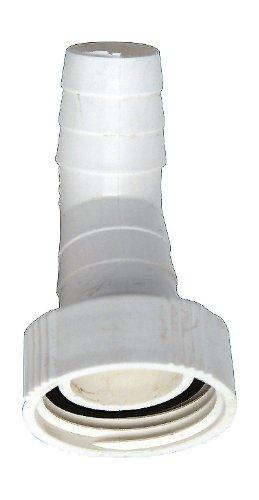 Winkel-Schlauchverschraubung | 45 Grad | Zum Anschluss des Ablaufschlauches einer Waschmaschine oder Spülmaschine