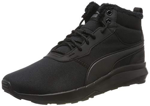 PUMA Herren ST Activate Mid WTR Hohe Sneaker, Black Black 01, 43 EU