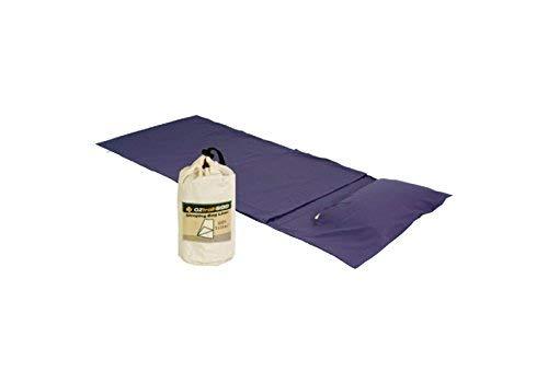 OZtrail Schlafsack YHA Baumwollfutter ACS-SLCY-B Sleeping Bag Liner YHA Cotton 90x220cm 350gr Schlafsack Inlett Cotton für Schlafsäcke aus Pflegeleichte Baumwolle mit integrierte Kissentasche