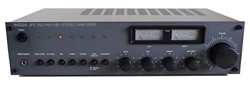 Wega JPS 352 V 150 Stereo Verstärker - VU Meter