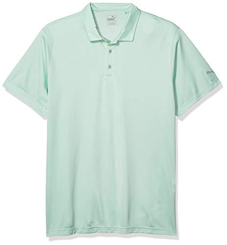 PUMA Polo de Golf pour Homme Rotation Vert Brume Triple x Large