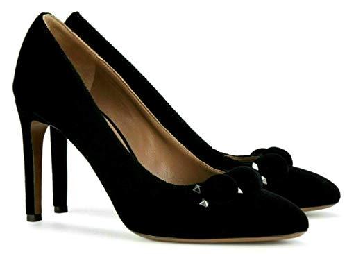 ALAÏA Paris Velvet Bombe Pumps Highheels Shoes 7H3I676TF32 Schuhe Schwarz 39