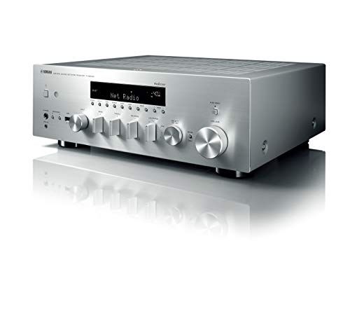Yamaha R-N803D 100W 2.0canali Stereo Argento ricevitore AV
