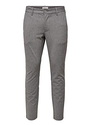 ONLY & SONS Herren Chino Mark 2930Medium Grey Melange